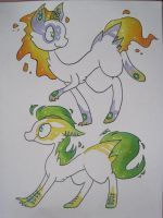 Estralda species adopts 2 .:CLOSED:. by MissDrawsAlot