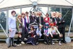 Danganronpa, All together! by hakucosplay