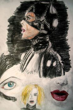 Michelle Pfeiffer as Selina Kyle 2 by TedShatner10