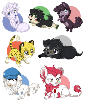 HxH Tiny Fluffies P. 1 by ThatWildMary