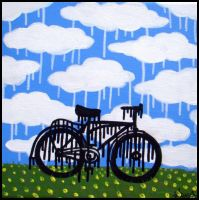 Drippy Bicycle by Pascalism