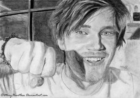 Pewdiepie Brofist by MeryHeartless