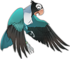 .: Comission: Lovebird :. by PirateHearts