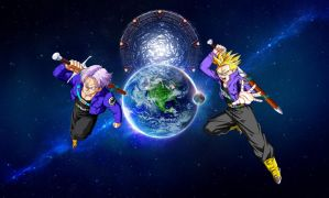 CrimZon Universe: Trunks (official) by Unknown117
