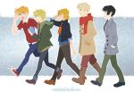 Hetalia Winter Stroll by ParadoxParade