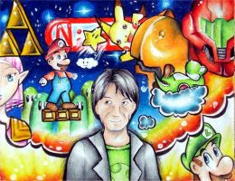 Lolz... Miyamoto tribute by Zeldagal