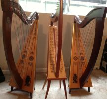 Three harps are better than two! by Zchanning
