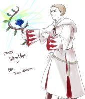 John x WhiteMage by toyjoypop