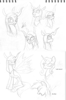Anaxa Sketchdump by MartianSketchPones