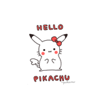 Hello Pikachu by pikarar