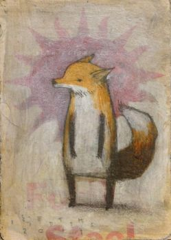 Upright Fox, Standing Fox by SethFitts