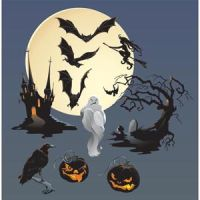 Free vector Halloween scary Elements by cgvector