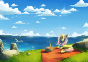 Feathers Over the Horizon by AnticularPony