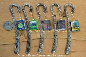 Middle Earth Bookmark Collection by maryfaithpeace