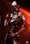 Mass Effect 3 Phantom Storm (2014) by RedLineR91