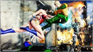 Wonder Woman v Aquaman by tiangtam