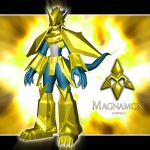 Magnamon 3d by me by EAA123