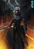 Raiden Metal Gear Rising Fanart by Arcsh