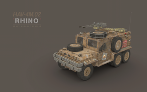HAV-4M.02 RHINO by cr8g