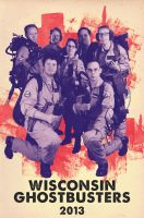 Wisconsin Ghostbusters Poster by CaptainSenator