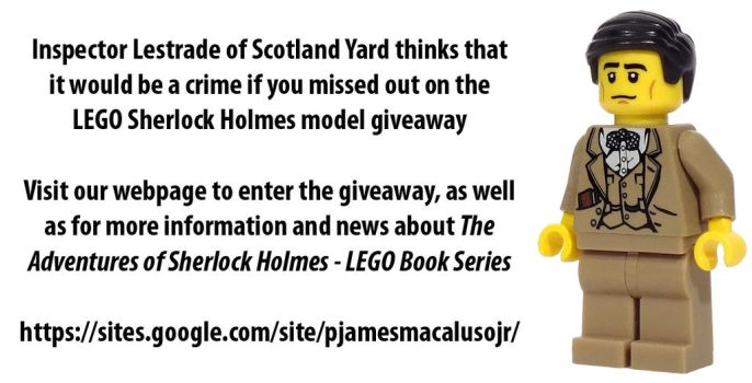 Lego Sherlock Holmes Giveaway by JamesMacaluso