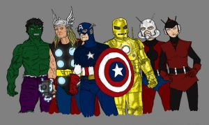 The Avengers by SEELE-02
