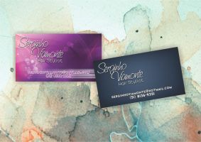 Serginho Viamonte Business Card by fullvocal