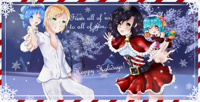 Lucent Heart Contest Entry of 2016[Winter Holiday] by KuroMizana