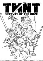 Ross Campbell's TMNT: Secrets of the Ooze by Kaufee