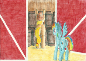 At the barn by IceColdWulf