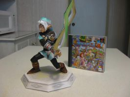 Fierce Deity Link Papercraft by Lantis02