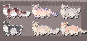 Munchkins Set 1 (CLOSED) [AUCTION] by Xecax