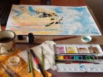 A Tale of Water and Magic - in progress by nati