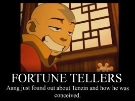 Aang learns of Tenzin by Fandomposters