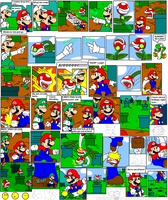 super mario bros page 36 by Nintendrawer