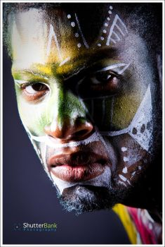 Face Painting 002 by senthil4yu