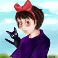 Kiki and Jiji by Tessay