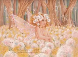 Dandelion Fairy 2014 by JoannaBromley