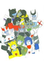 Autobot Group by Kage-Jaganshi