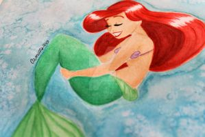 Ariel by crystalwaterfall