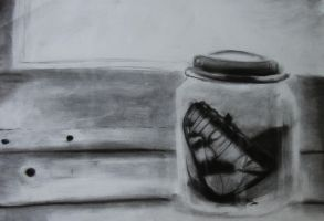 traped in an jar by Created-by-Monsters