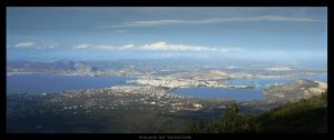 Chalkis Cityscape by Veinctor