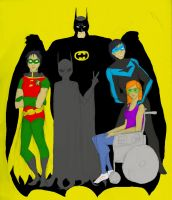 nml era bat family by DeeDraws