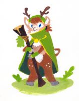 The Faun by pai-draws