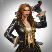 Shooter Lady by enverbike