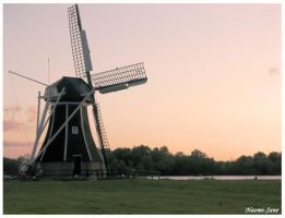 mill at sunset by naomi-jane1