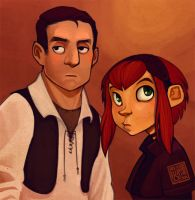 Stu and Ginny by thundercake