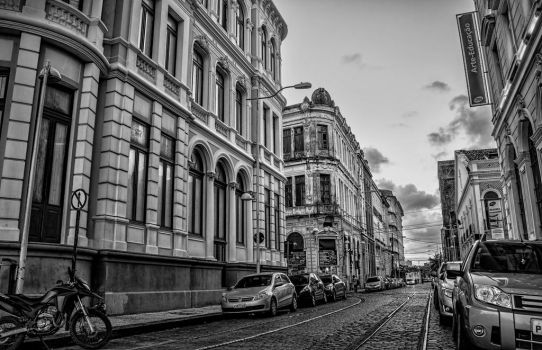 An urban scene of Recife by marcelodeejay