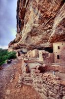 Colorado Cliff Dwellings by Ray-Devlin