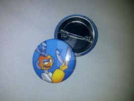 Megaman Button Collection - Cut Man by Rattlesire